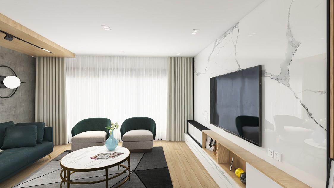 惠州方直·君御、167平3室1厅3卫、都市精英、现代简约